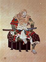 武田家臣 穴山信君肖像画
